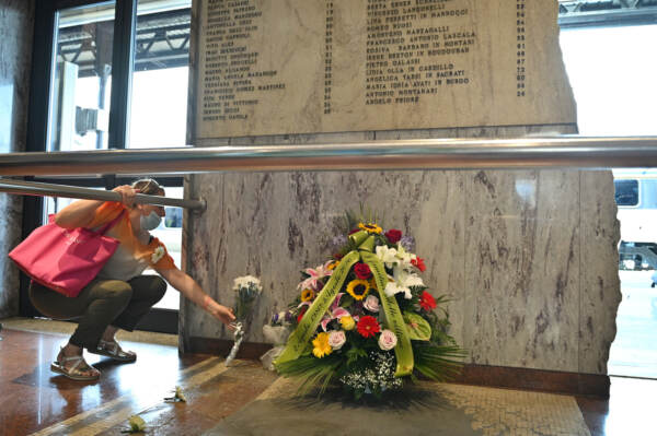Commemorazione per il 40esimo anniversario della strage alla stazione di Bologna