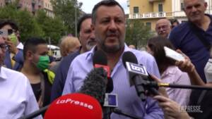 """Migranti, Salvini: """"Dopo il Covid non possiamo permetterci 1500 sbarchi al giorno"""""""