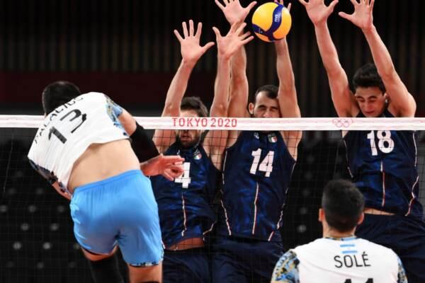 Tokyo 2020, Italvolley maschile ko ai quarti: l'Argentina spegne il sogno azzurro