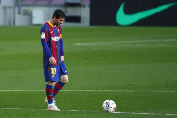 Spain Soccer Messi Barcelona