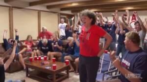 Tokyo 2020, Ryan Crouser conquista l'oro nel peso: grande festa nella sua casa in Oregon
