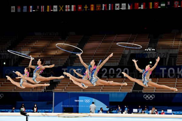 Olimpiadi di Tokyo 2020, ultimo giorno: Ginnastica ritmica, medaglia di bronzo per l'Italia