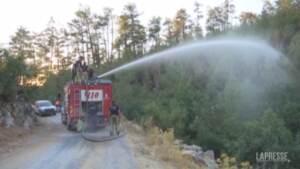 Turchia, divampano gli incendi nell'area di Milas