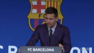 """Messi dà l'addio al Barcellona: """"Ho fatto di tutto per rimanere"""""""