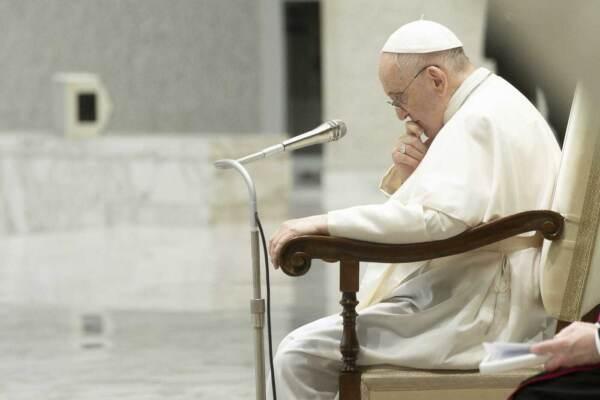 L'udienza generale del mercoledì di Papa Francesco nell'Aula Paolo VI