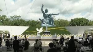 Nagasaki, 76esimo anniversario del bombardamento atomico
