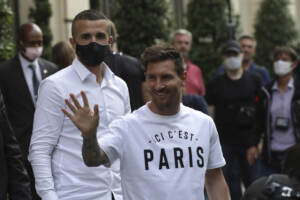 PSG, Messi è atterrato a Parigi