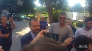 Calcio, per Dzeko visite mediche e firma con Inter