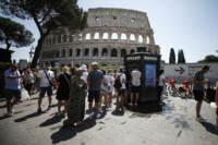 Roma, picco di caldo per Lucifero