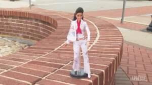 Ciuffo e pantaloni a zampa: arriva la Barbie dedicata a Elvis