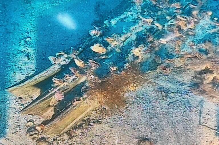 Sicilia, ritrovato rostro della Prima Guerra Punica nel mare al largo di Levanzo