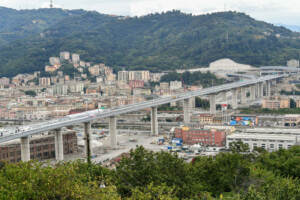 Genova, inaugurazione del nuovo Ponte San Giorgio