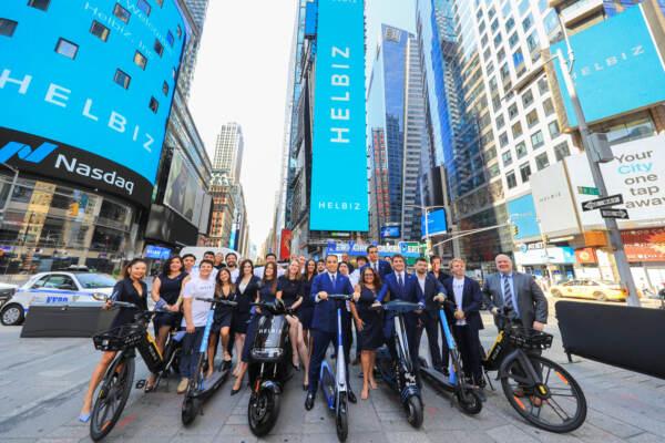 Helbiz è la prima azienda di micromobilità in sharing quotata in borsa al Nasdaq