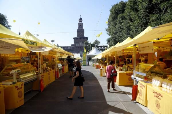 Da Piazza del Cannone a Piazza Castello allestito il Villaggio Coldiretti a Milano