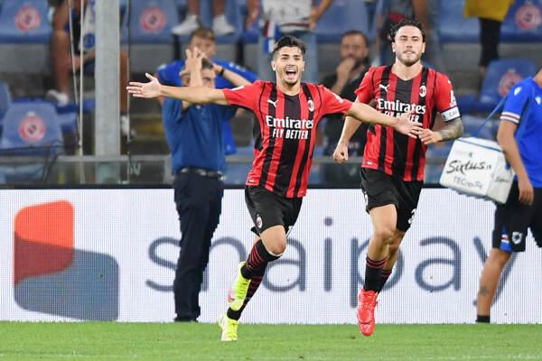 Sampdoria vs Milan - Serie A TIM 2021/2022