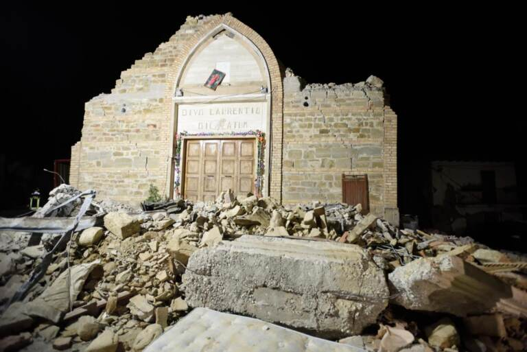 Cinque anni dal terremoto che ha devastato Amatrice – Le immagini