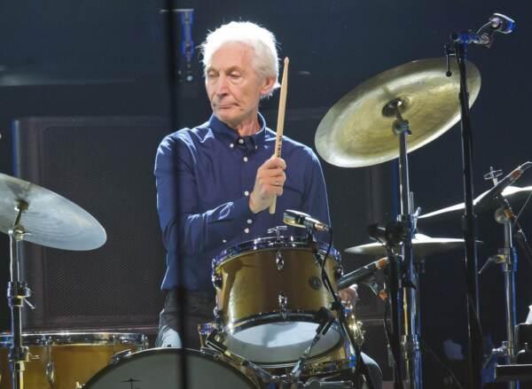 Rolling Stones, è morto Charlie Watts