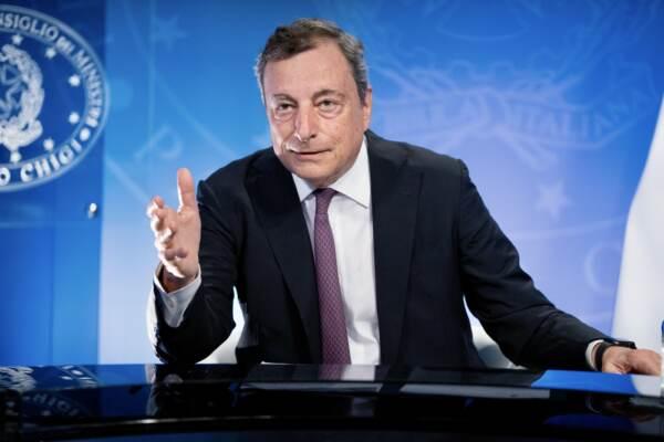 Il Presidente Draghi ha partecipato in videoconferenza alla riunione straordinaria del G7 su Afghanistan