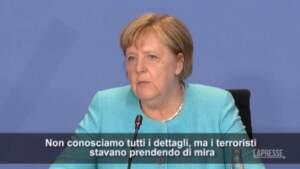 """Attentato Kabul, Merkel: """"Attacco orrendo in situazione già molto tesa"""""""
