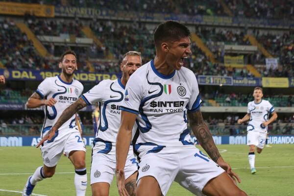 Serie A: l'Inter sbanca il Bentegodi, è subito super Correa