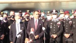 "Afghanistan, Di Maio a Fiumicino: ""Italia è primo Paese Ue per evacuati"""