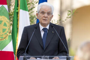 """Quirinale, Sergio Mattarella alla cerimonia per la consegna del """"Ventaglio"""""""