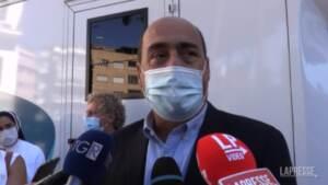 """No Vax, Zingaretti: """"Distinguere tra chi ha dubbi e minoranze di estremisti"""""""