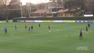 """Italia, via al raduno di Coverciano. Mancini: """"Possiamo migliorare ancora"""""""