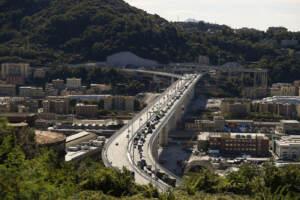 Apertura al traffico del nuovo ponte Genova San Giorgio