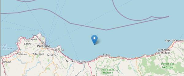 Palermo, scossa di terremoto di 4.3: nessun danno