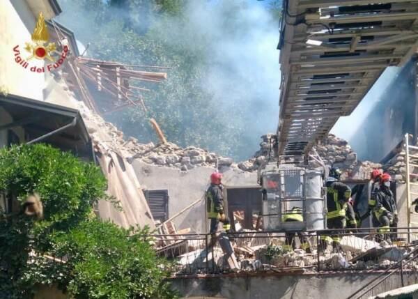 Toscana: esplode casa a Pontremoli, 88enne muore sotto le macerie