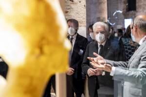 Venezia, Presidente Mattarella visita 17^ mostra internazionale di architettura 'How will we live together'