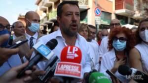 """Governo, Salvini: """"Noi lì stiamo, non lasciamo Italia a Pd e M5S"""""""