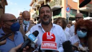 "Amministrative Milano, Salvini: ""Sala è nervoso"""
