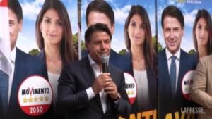Elezioni Roma, gaffe di Giuseppe Conte: confonde Atac con Ama