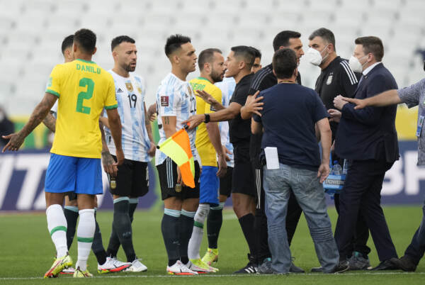 Brasile vs Argentina - Qualificazioni Mondiali Qatar 2022: sospesa dalle autorità sanitarie
