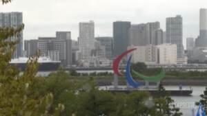 Tokyo, rimosso il simbolo gigante delle Paralimpiadi