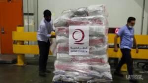 Afghanistan, partiti dal Qatar gli aiuti umanitari per Kabul