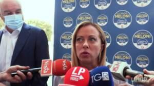 """Green Pass, Meloni: """"Lega non coerente? Ne renderà conto ai cittadini"""""""