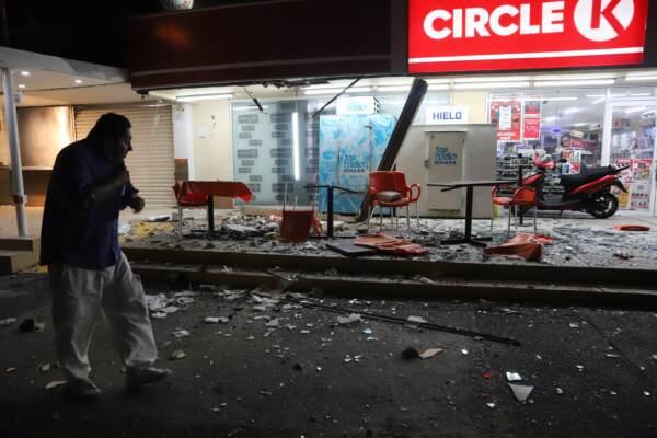 Messico, scossa di terremoto di magnitudo 7: almeno un morto