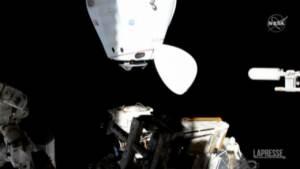 Stazione spaziale internazionale, fumo e puzza di plastica bruciata nel modulo russo