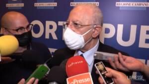 """Amministrative, De Luca: """"Mi auguro che la nuova giunta non perda tempo"""""""