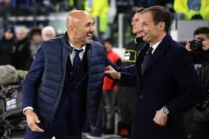 Serie A, verso Napoli-Juve. Spalletti: Sfida da sogno. Allegri senza Dybala: No alibi
