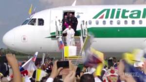 Papa Francesco è arrivato a Bratislava