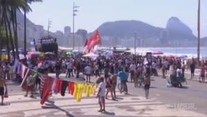 Brasile, proteste anti-Bolsonaro a San Paolo e Rio de Janeiro