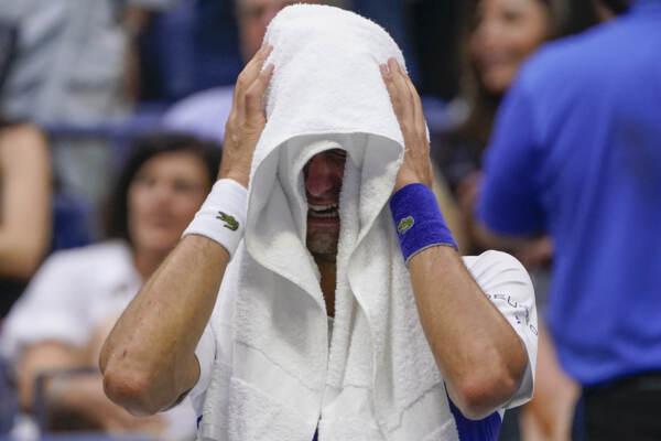 Us Open: Djokovic ko, sfuma il sogno del Grande Slam