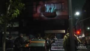 Messico, anti-abortisti protestano davanti alla Corte suprema