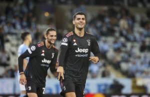 Champions, Juve a valanga sul Malmoe. Pari Atalanta con il Villareal