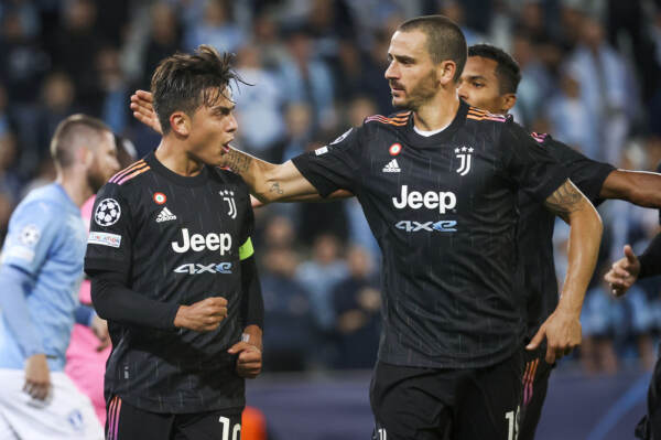 Champions League, Malmo vs Juventus