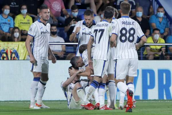 Champions League, Villarreal vs Atalanta